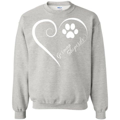 German Shepherd, Always in my Heart Sweatshirt
