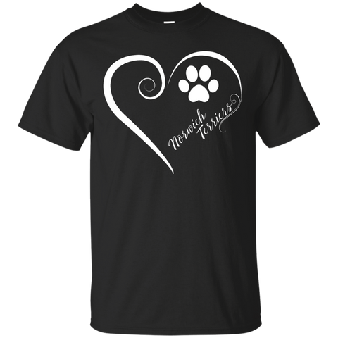 Norwich Terrier, Always in my Heart Tee