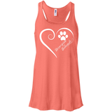 Norwegian Buhund, Always in my Heart Flowy Racerback Tank