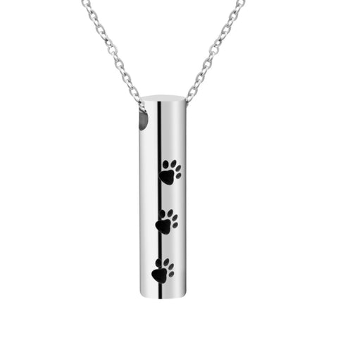 Memorial Urn Cylinder Necklace