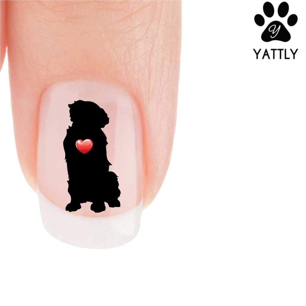My Heart Golden Retriever Nail Art Decals (Now 50% More FREE)
