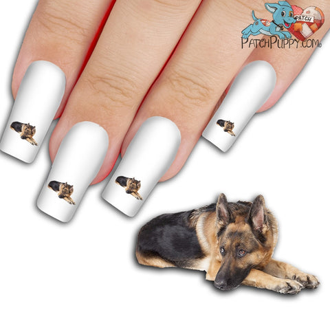 German Shepherd It Wasn't Me, Mom Nail Art Decals (NOW 50% MORE FREE)