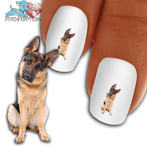 German Shepherd You Said What Nail Art Decals (NOW 50% MORE FREE)