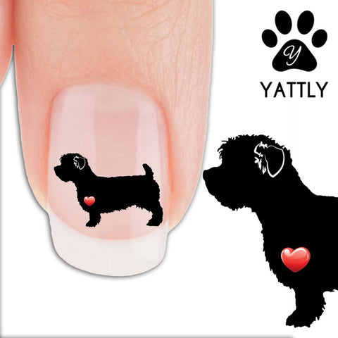 Glen Imaal Terrier My Heart - Nail Art Decals (Now! 50% more FREE)