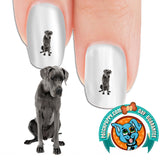 Great Dane Love Me Nail Art Decals (Now! 50% more FREE)