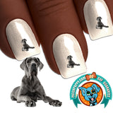 Great Dane Treat Please Nail Art Decals (Now! 50% more FREE)