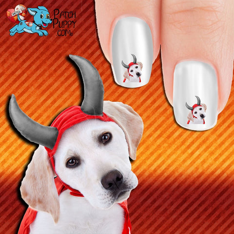 I'm no devil Nail Art Decals (Now! 50% more FREE)