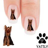Yorkie and Proud - Nail Art ( NOW 50% MORE FREE)
