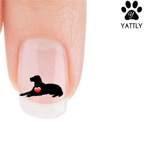 My Heart Labrador Retriever Nail Art Decals (Now 50% More FREE )