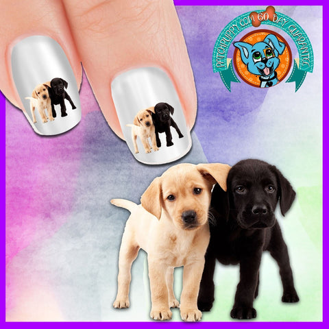 Labrador Puppy Love Nail Art Decals (Now 50% more FREE )