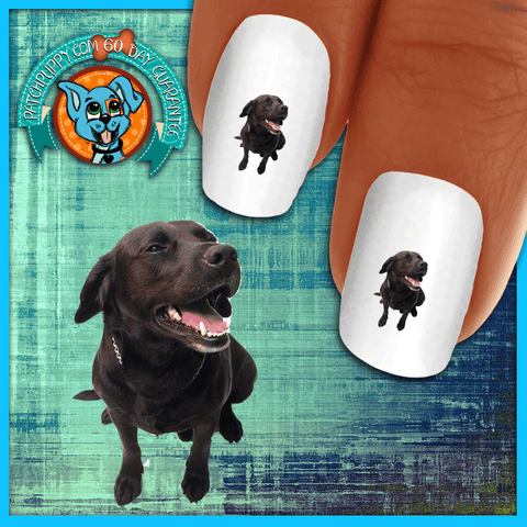Labrador Retriever Happy Happy Lab Nail Art Decals (NOW 50% MORE FREE)