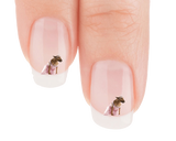 English Bull Terrier Princess Bride Nail Art Decals (NOW 50% MORE FREE)