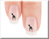 Boxer Give The Dog Your Food! Nail Art Decals (NOW 50% MORE FREE)