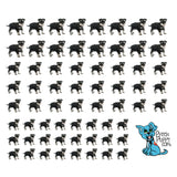Miniature Schnauzer Cuteness Nail Art Decals (NOW 50% MORE FREE)