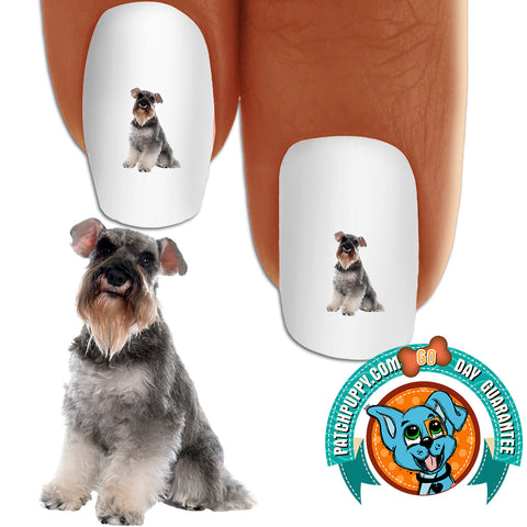 Miniature Schnauzer Proud Nail Art Decals (NOW 50% MORE FREE)
