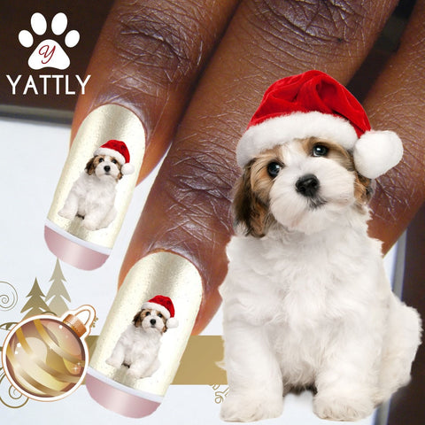 Mopsie Santa Hat - Nail Art (NOW 50% MORE FREE)