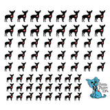 My Heart Chihuahua Nail Art Decals (Now! 50% more FREE)