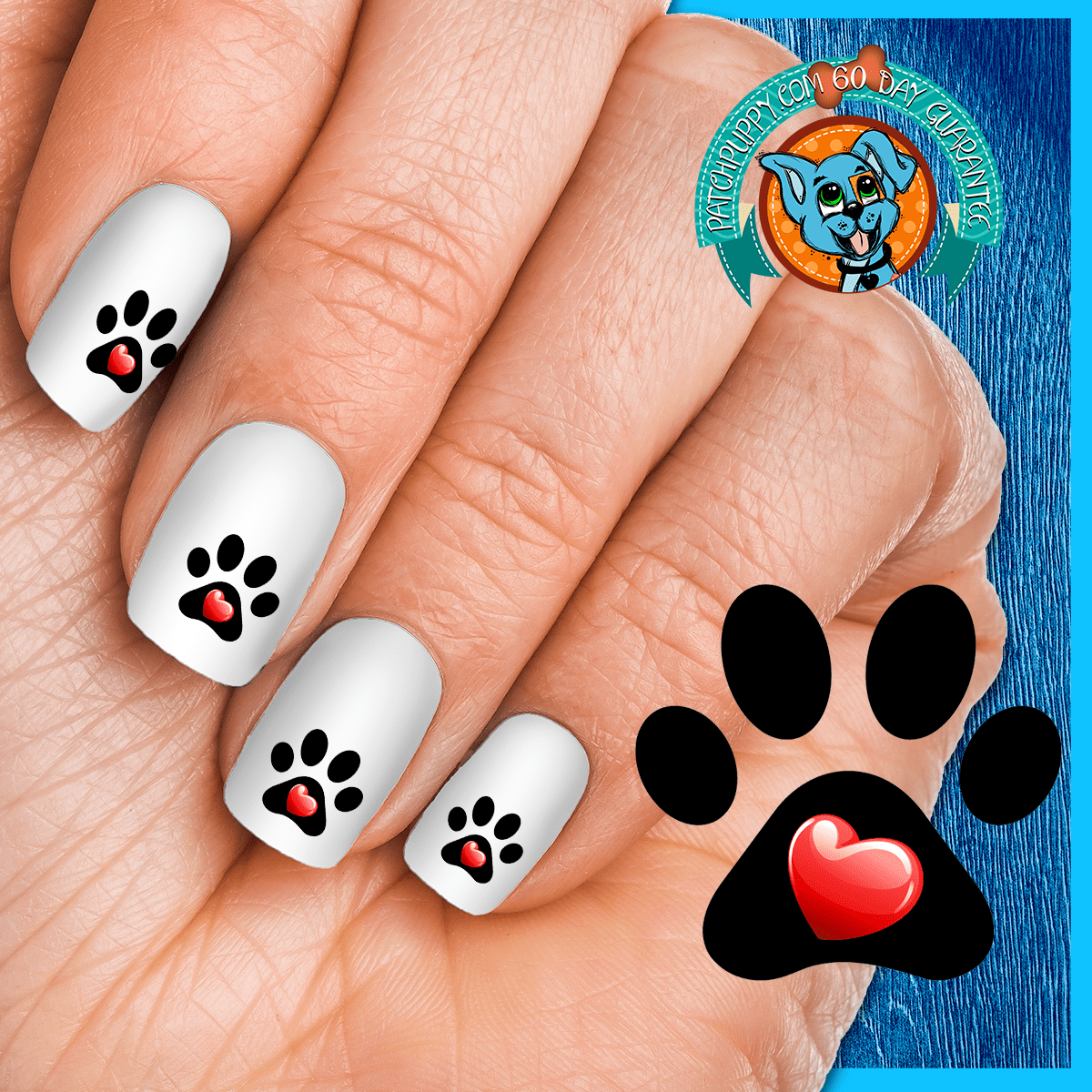 Nail Art Decals (Now! 50% More FREE
