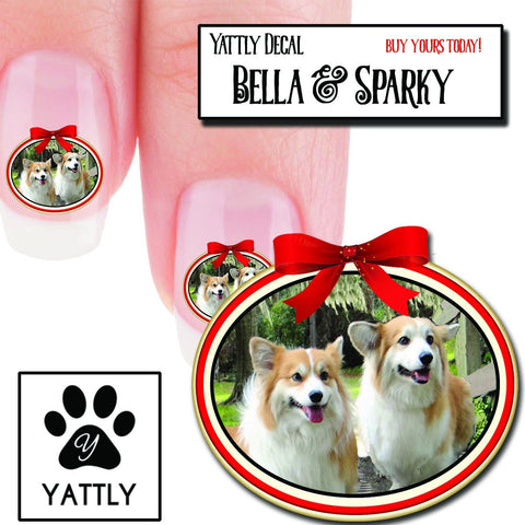 Corgi Bella & Sparky Nail Art (NOW 50% MORE FREE)