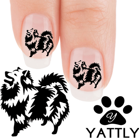 Keeshond I'm a work of art Nail Art (NOW 50% MORE FREE)