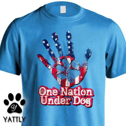One Nation Under Dog Tee