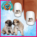 Pug Puppy Love Nail Art (NOW 50% MORE FREE)