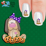 Pumpkin Patch Girl Nail Art Decals (Now! 50% more FREE)