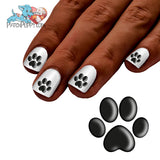 Shadow Paw Print Nail Art Decals (Now! 50% more FREE)