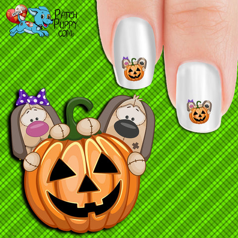 Spooky Punkins Nail Art Decals (Now! 50% more FREE)