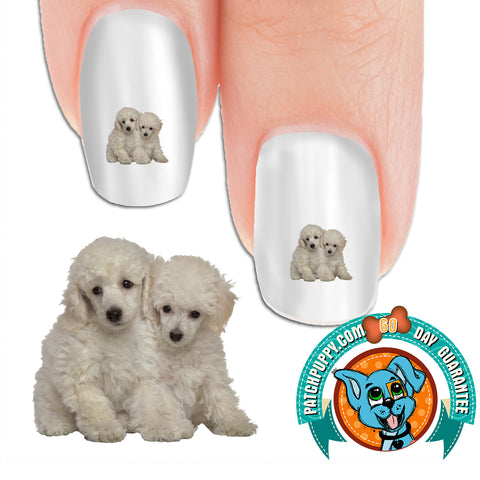 Standard Poodle Puppies Nail Art (NOW 50% MORE FREE)
