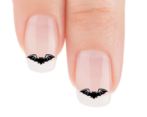 Gothic Bat Nail Art Decals (Now! 50% more FREE)