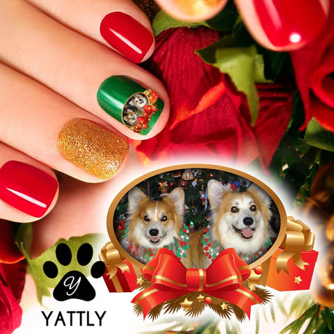 Framed Custom Corgis Nail Art (NOW 50% MORE FREE)