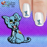 Patch Puppy No looking back! Nail Art Decals (Now! 50% more FREE)
