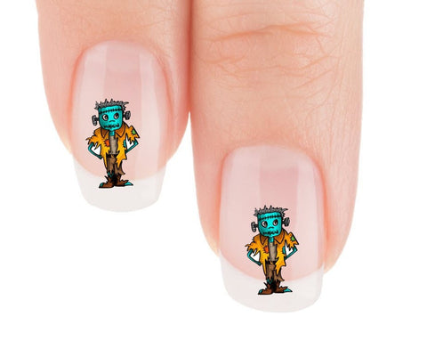 Frankie Nail Art Decals (Now! 50% more FREE)