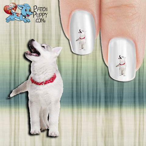 Husky - Oh, for laughing out loud!! Nail Art Decals (Now! 50% more FREE)