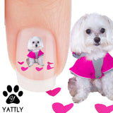Bichon Frise, I love you Mommy! - Nail Art Decals (Now! 50% more FREE)