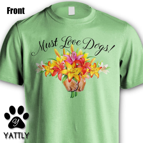 Must Love Dogs Blk T-Shirt