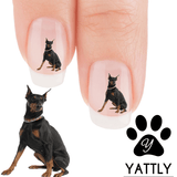 Doberman I know I'm Cute Nail Art (Now 50% More FREE)