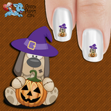 Pumpkin Pup Nail Art Decals (Now! 50% more FREE)