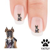Boxer Yo, I am running late to the Office! Nail Art Decals (NOW 50% MORE FREE)