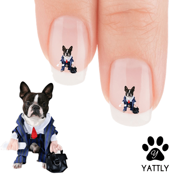 Boston Terrier My Corporate Boston Nail Art Decals Now 50 More