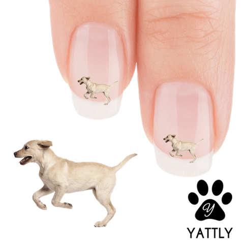 Labrador Pure Joy Nail Art Decals (NOW 50% MORE FREE)