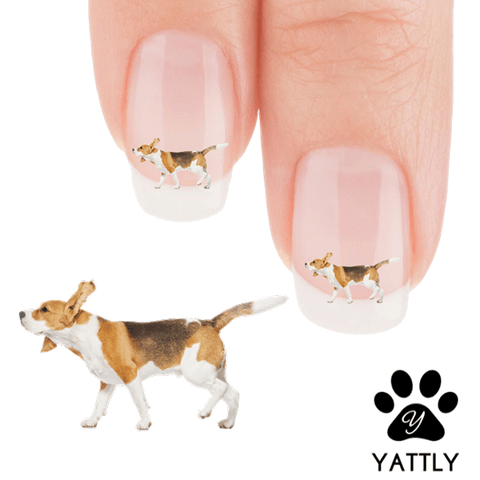 Beagle Shake it Off Nail Art Decals (NOW 50% MORE FREE)