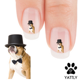 Pit Bull Yeah! I am Cool Nail Art Decals (NOW 50% MORE FREE)