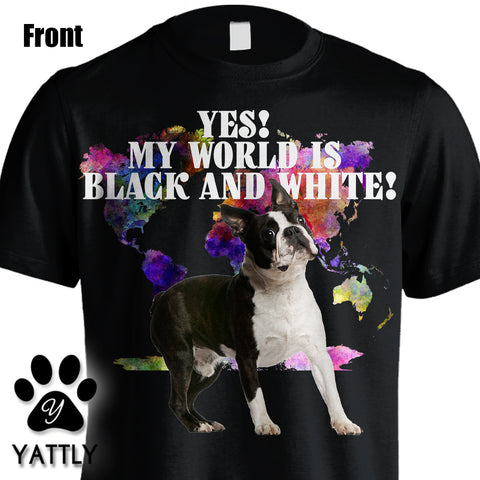 Yes! My World Is Black and White Tee