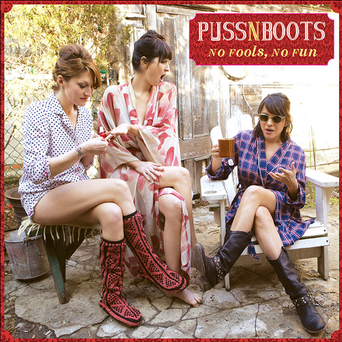 Puss N Boot: No Fools, No Fun Vinyl - Norah Jones Store - 1