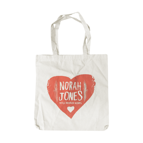 Folk Heart Tote Bag - Norah Jones Store