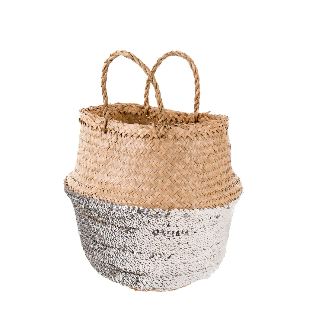 Sequin Belly Basket