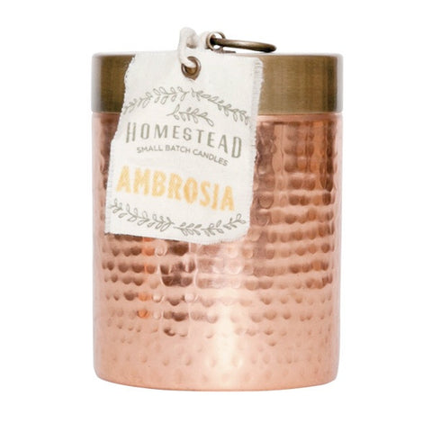 Hammered Canister Candle
