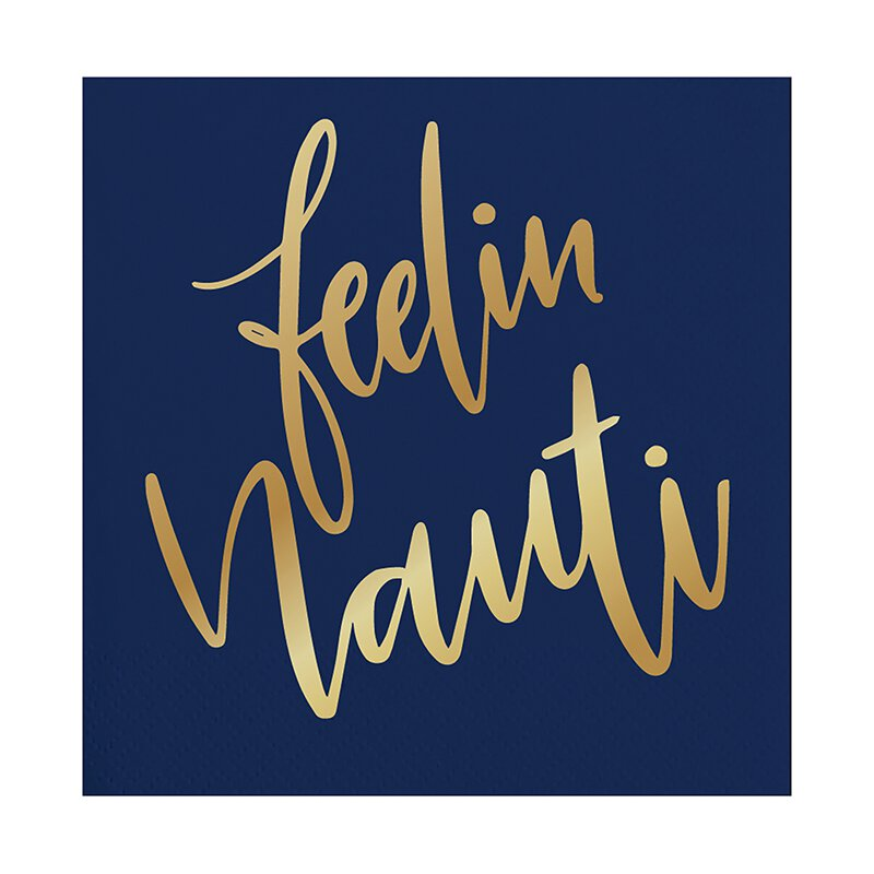 "Slant Collections 5""Feelin Nauti Napkin"
